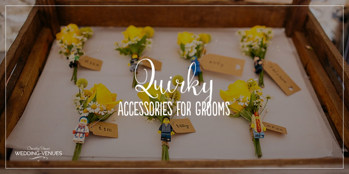 The Best Quirky Wedding Accessories For Grooms | CHWV