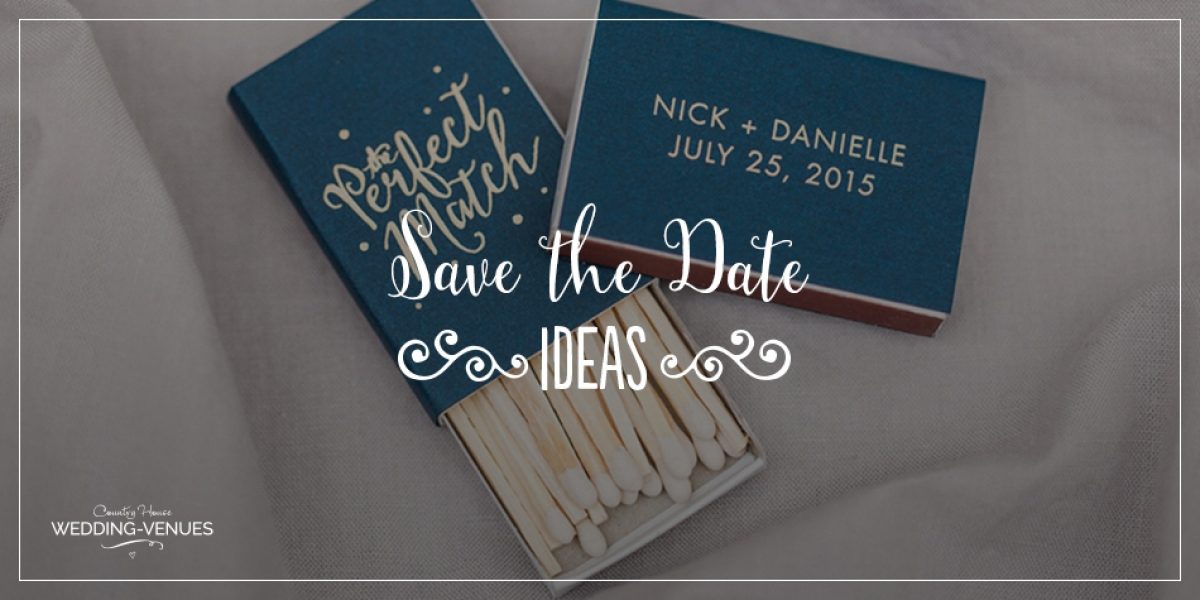 Save The Date Ideas | Bridal Musings Wedding Blog