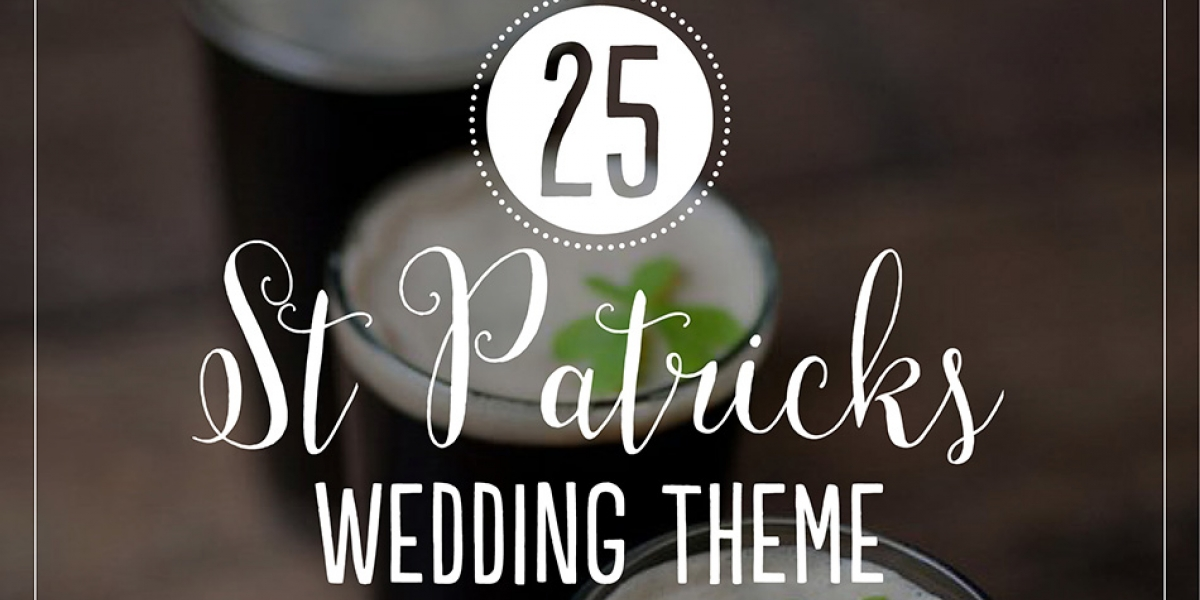 25 St Patricks wedding theme