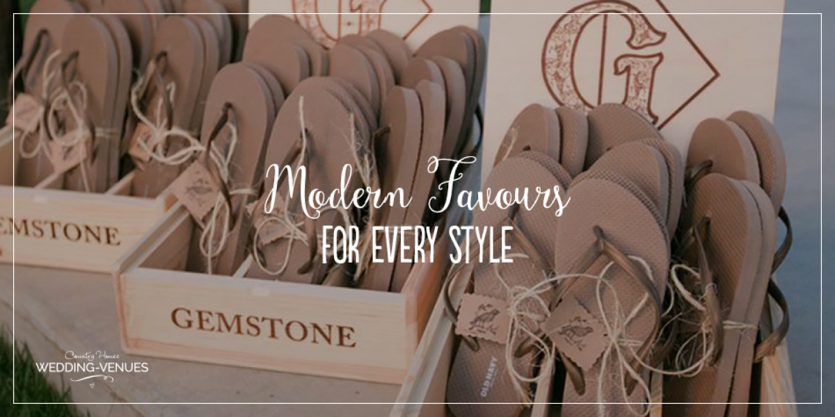 The Best Modern Wedding Favours For Every Style | CHWV