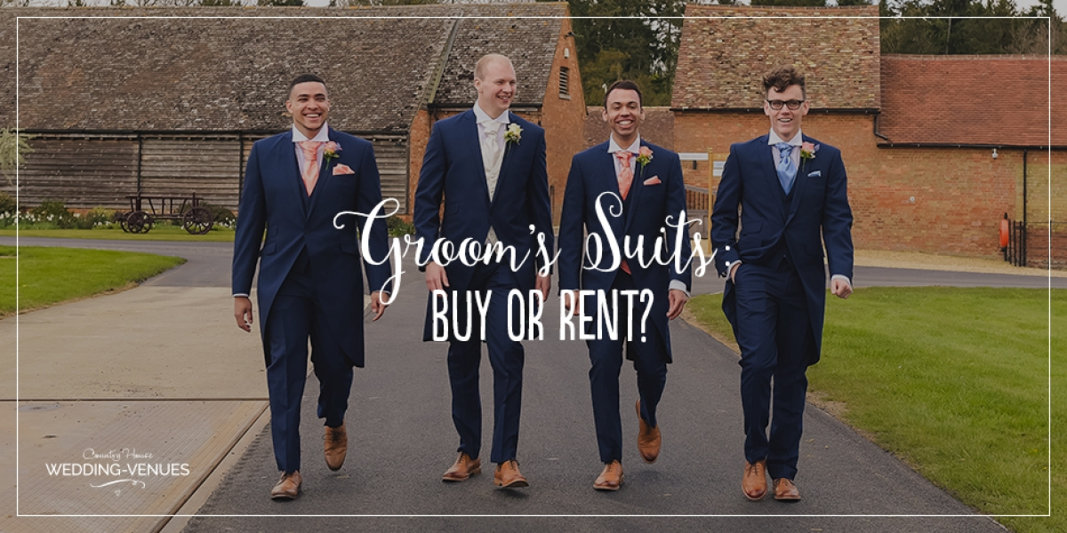 The Groom's Suit: Should You Buy Or Rent? | CHWV