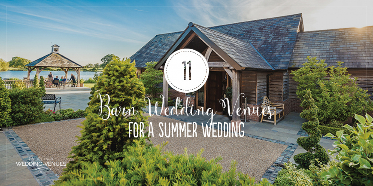 11 Barn Wedding Venues For A Summer Wedding | CHWV