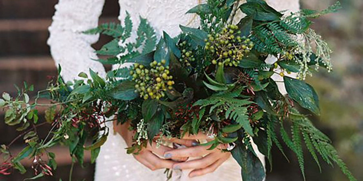 Bring the outside in with your wedding flowers | CHWV