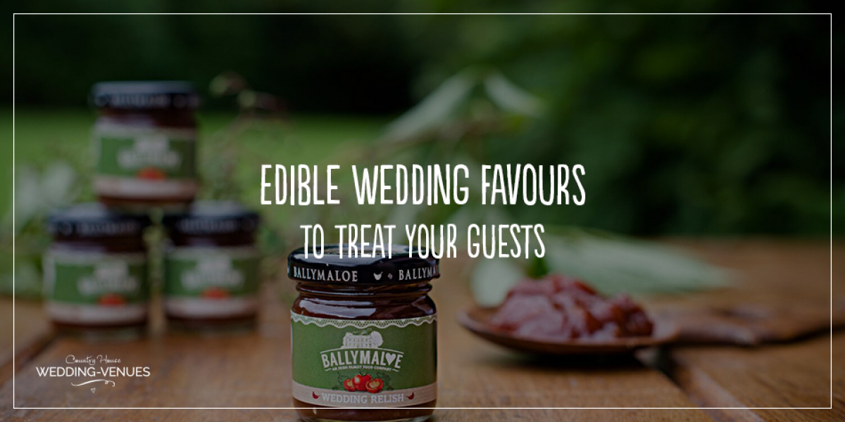 Edible Wedding Favours To Treat Your Guests | CHWV