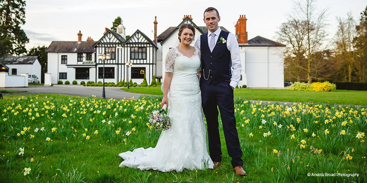 Real Wedding - Emma and Mick's Stunning Spring Wedding at Swynford Manor | CHWV