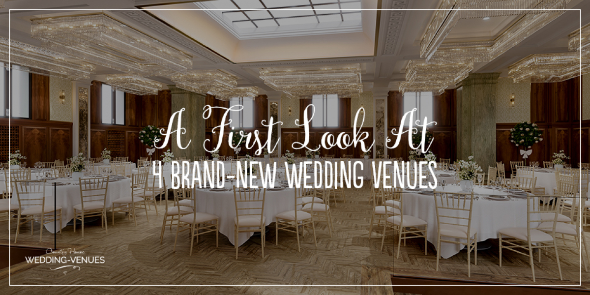 A First Look at 4 Brand-New Wedding Venues | CHWV