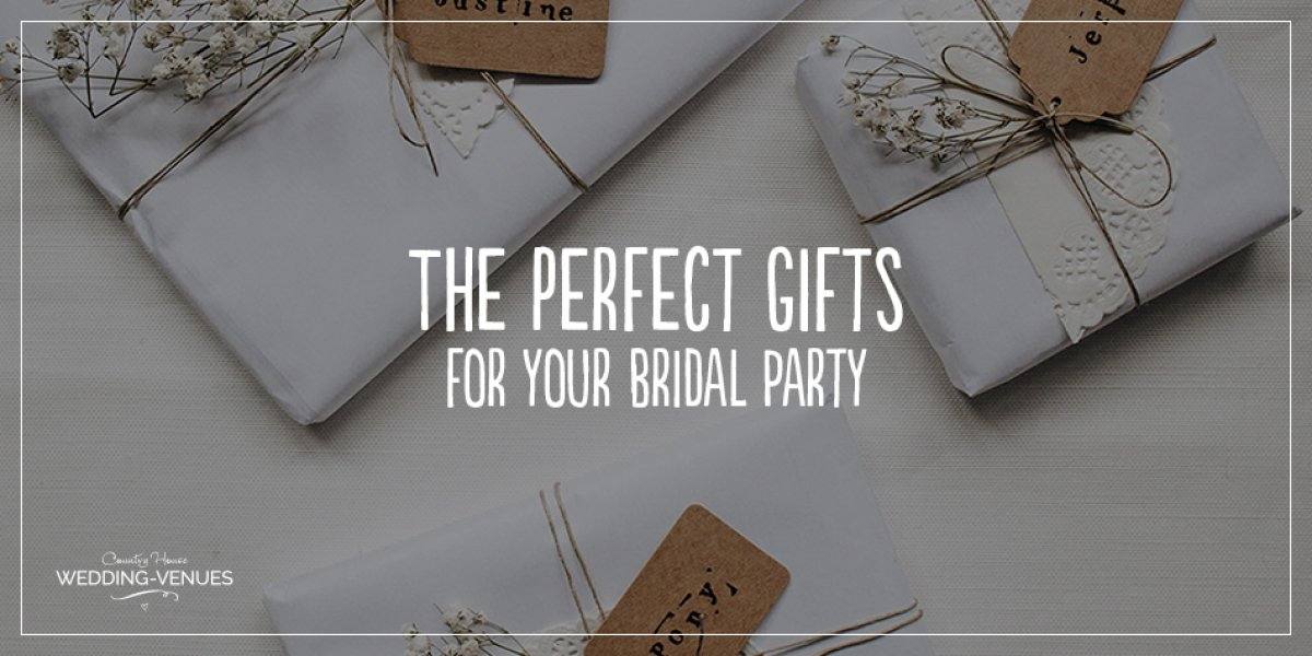 The Perfect Gifts For Your Bridal Party | CHWV
