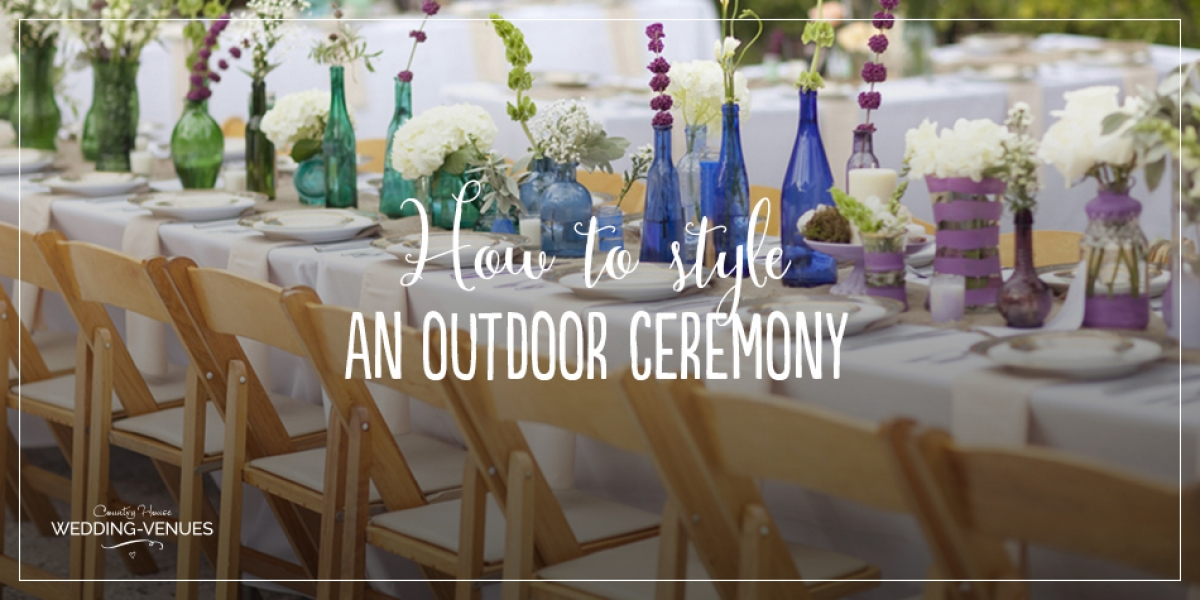 How To Style An Outdoor Ceremony | CHWV