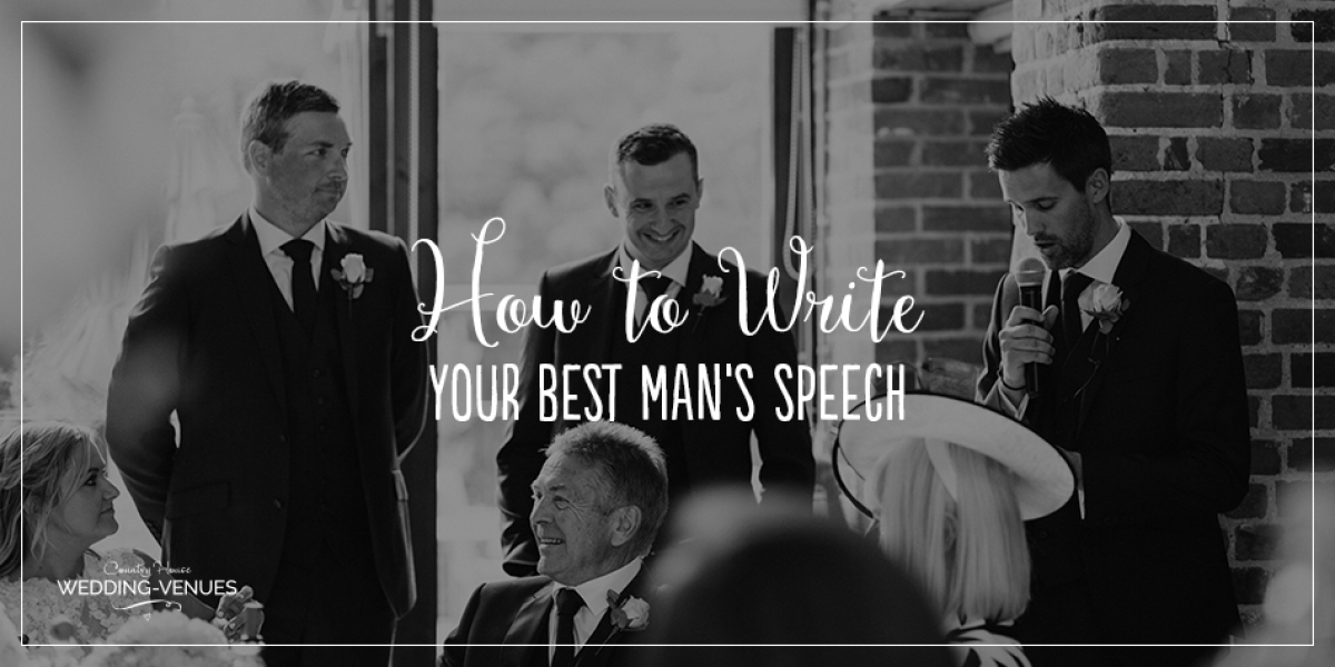 How To Write Your Best Man Speech | CHWV