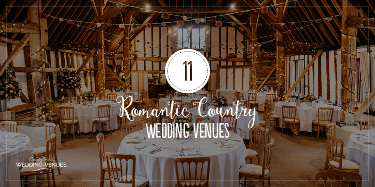 11 Romantic Country Wedding Venues You'll Fall In Love With | CHWV
