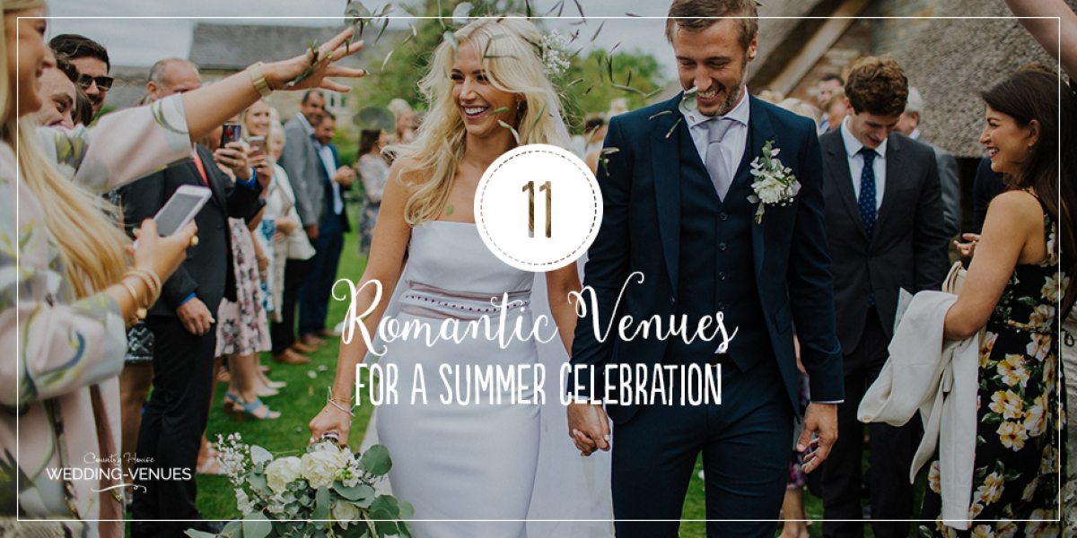 11 Romantic Wedding Venues For A Summer Celebration | CHWV