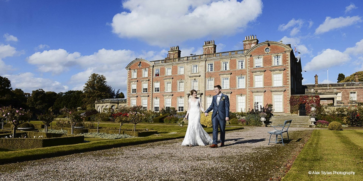 Real Wedding - Sarah and Ben's Amazing Autumnal Wedding At Weston Park