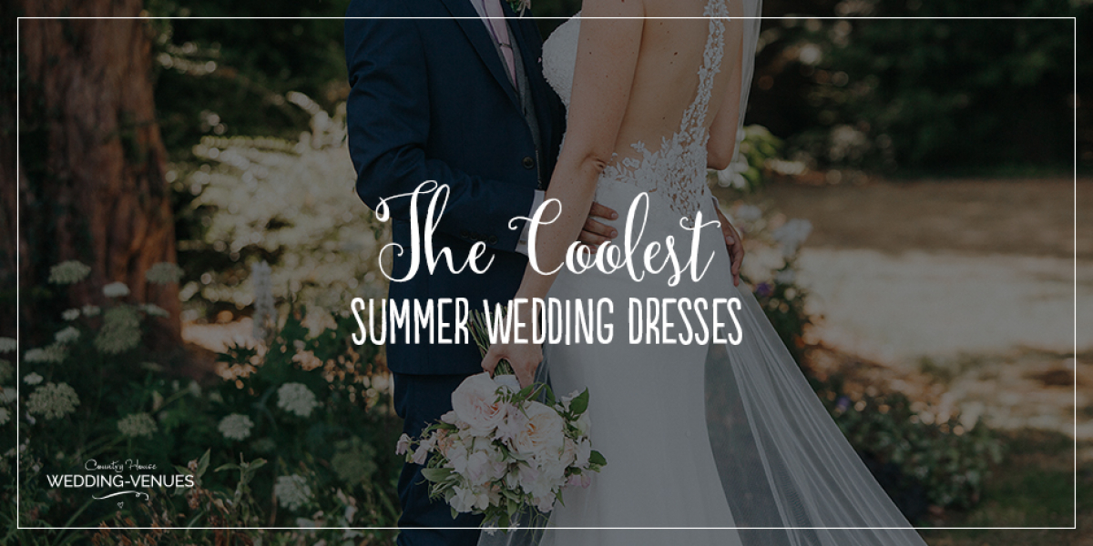 The Coolest Summer Wedding Dresses | CHWV