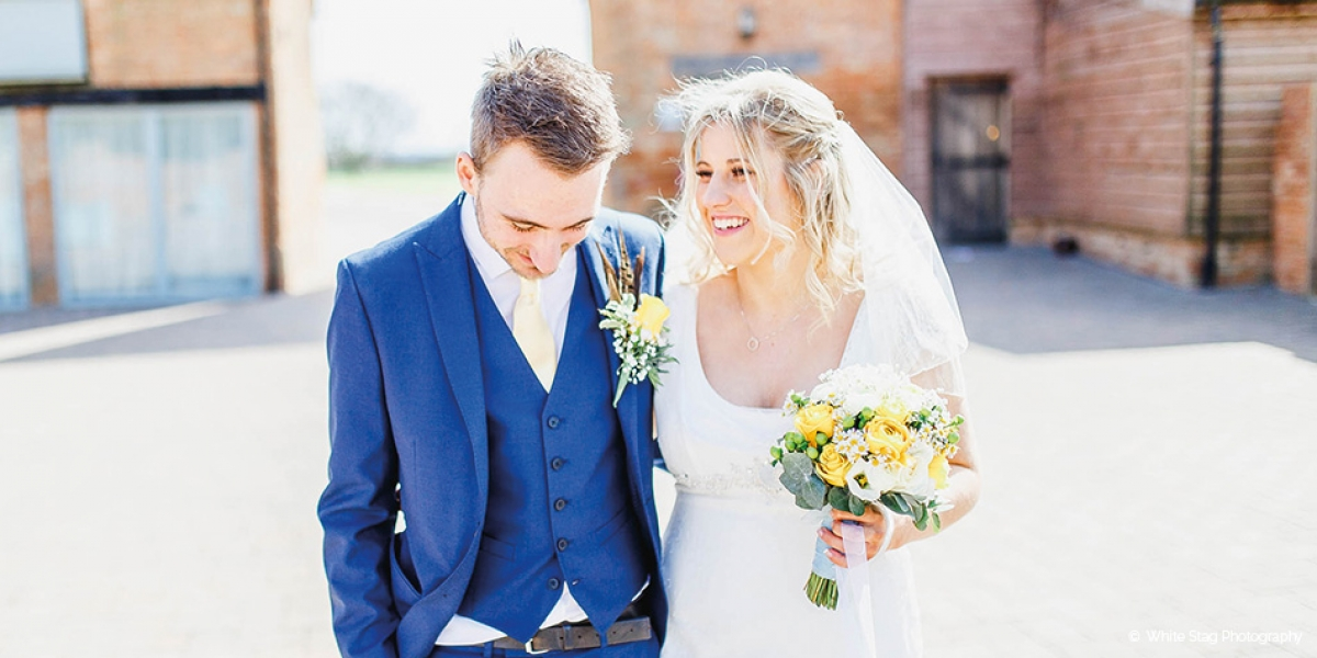 Hannah and Tom's Spring Wedding at Bassmead Manor Barns | CHWV