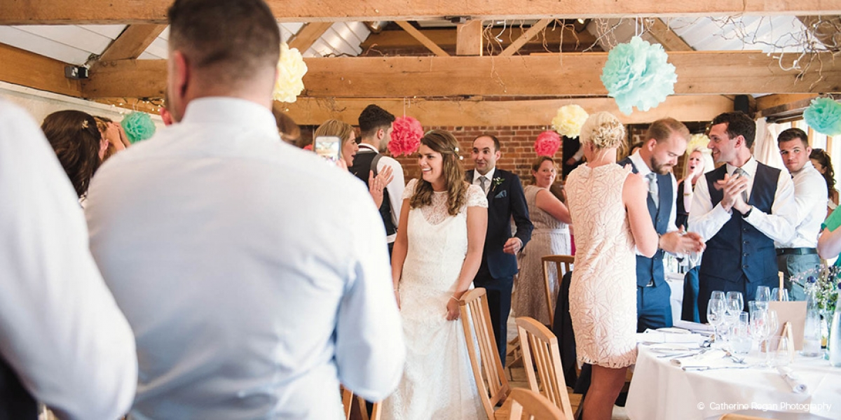 Kate and Peter's Perfect Wedding Day at Curradine Barns | CHWV