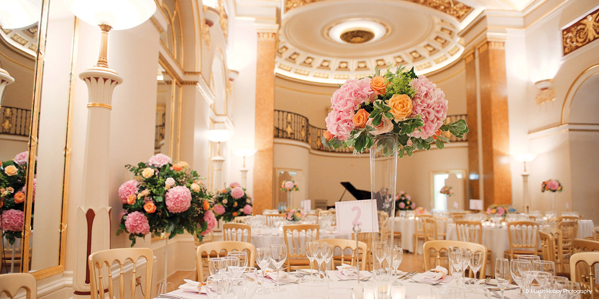 Lansdowne Club wedding venue in London - August special offer | CHWV