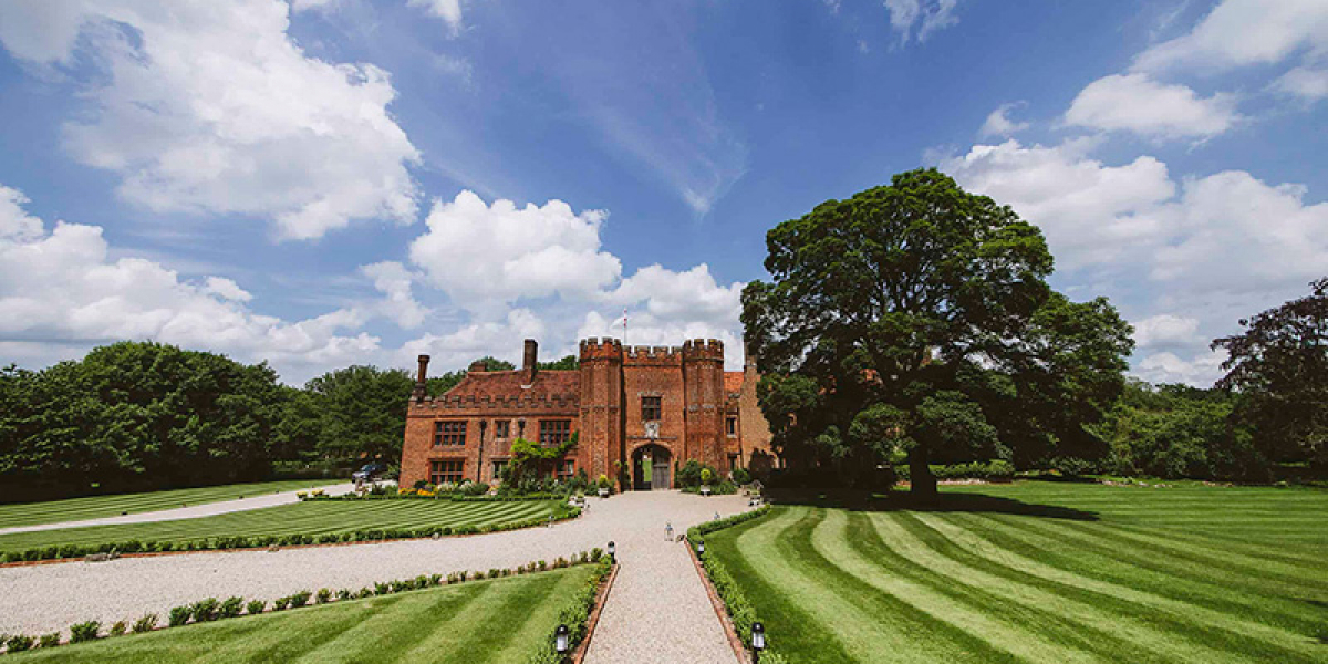 The main house at Leez Priory wedding venue in Essex | CHWV