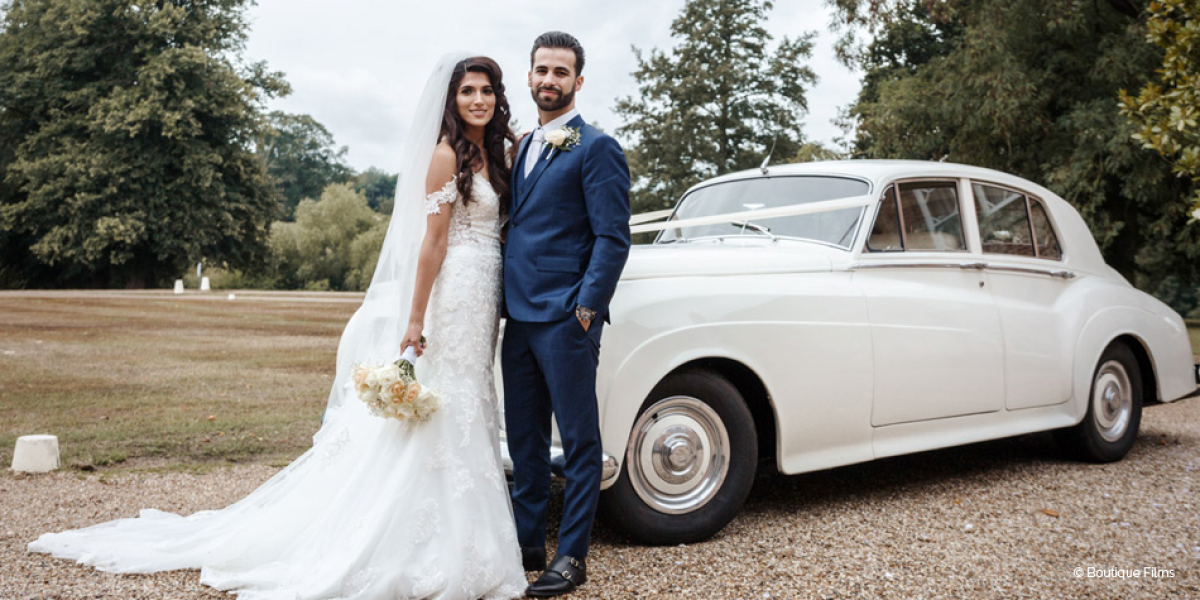 Real Wedding - Mohini and David's Glorious Summer Wedding at Braxted Park | CHWV