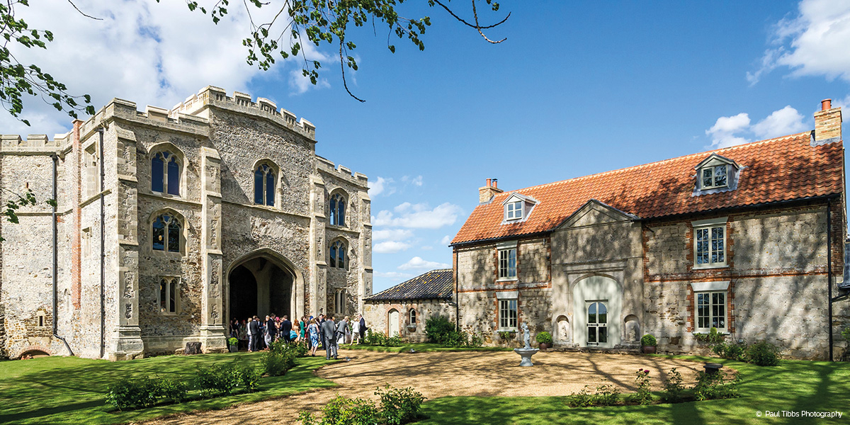 Pentney Abbey wedding venue in Norfolk - 2018 Last minute wedding dates | CHWV