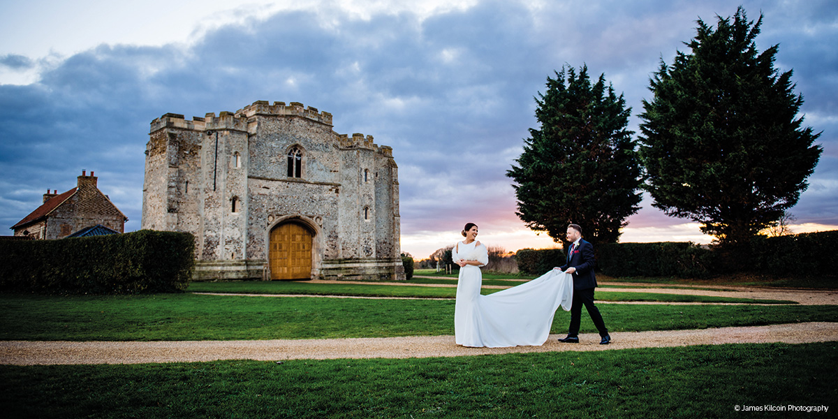 Pentney Abbey wedding venue in Norfolk - Open day | CHWV