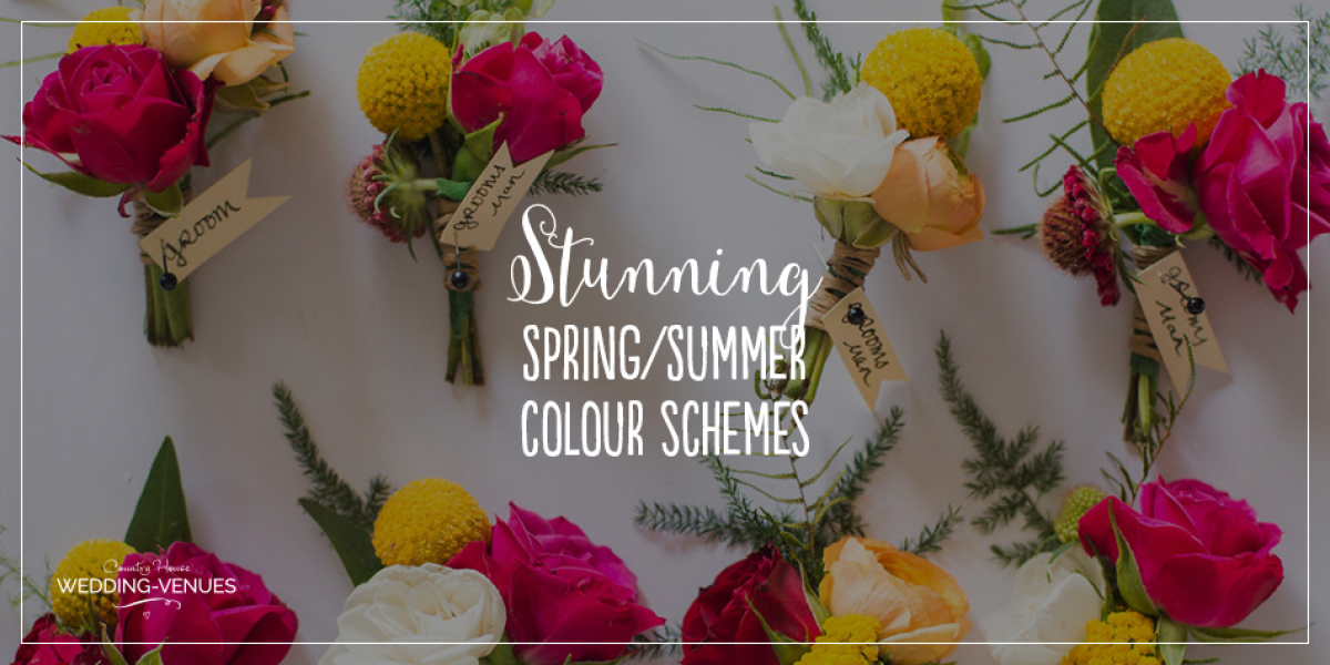 Stunning Colour Schemes For A Spring Or Summer Wedding | CHWV