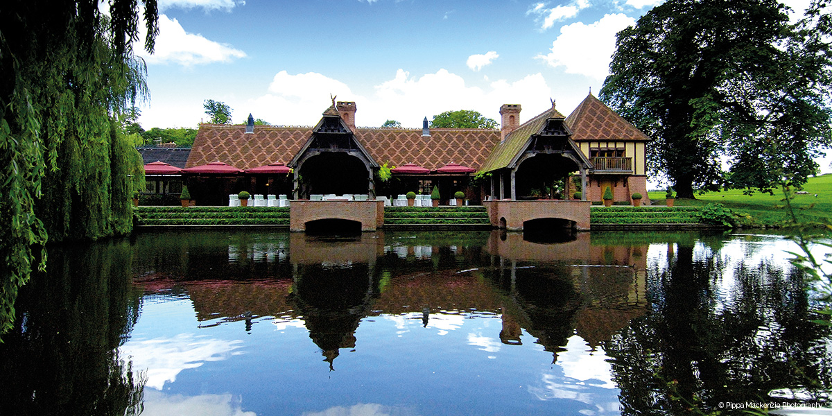 Waterside wedding venue the dairy waddesdon manor chwv for Wedding venues open late