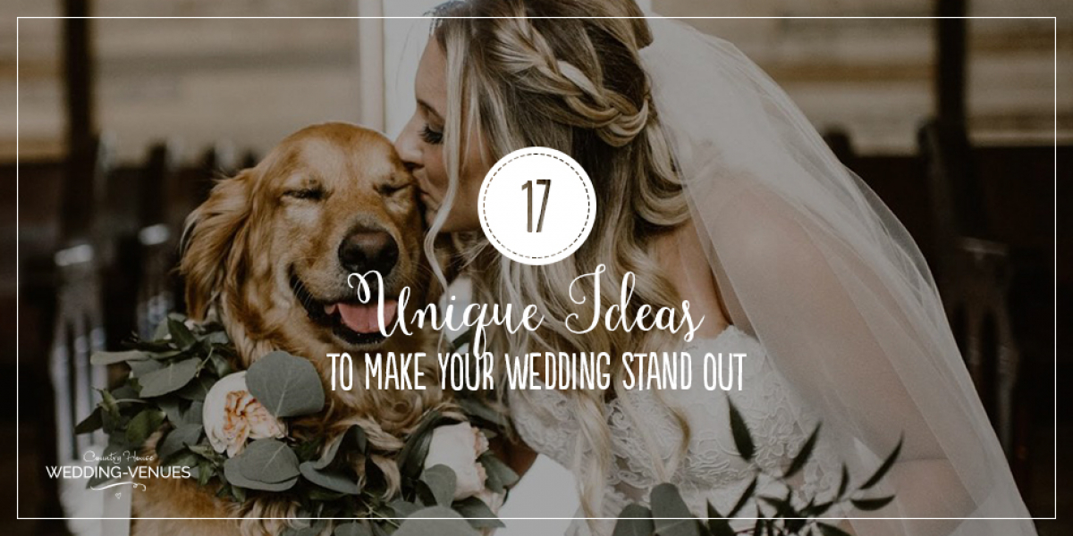 17 Unique Wedding Ideas To make Your Wedding Stand Out | CHWV