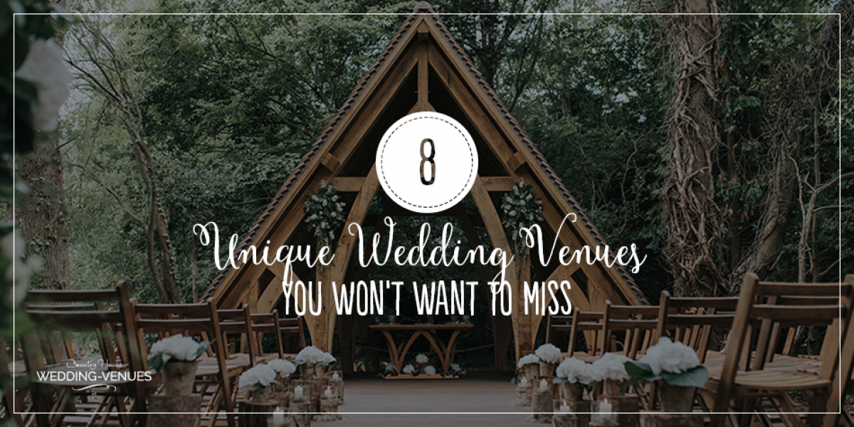 8 Unique Wedding Venues You Won't Want To Miss | CHWV