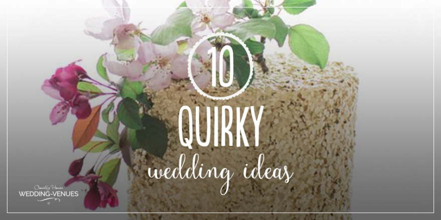 10 Quirky 2016 Wedding Ideas | CHWV