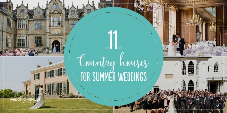 11 Beautiful Country House Venues For Summer Weddings | CHWV