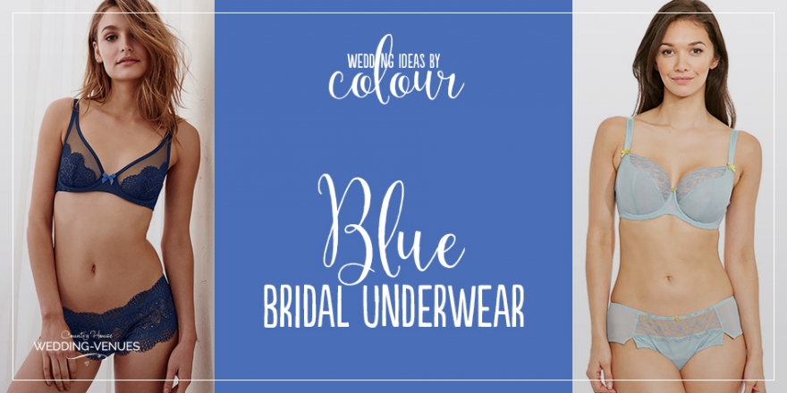 Wedding Ideas by Colour: Blue Bridal Underwear | CHWV