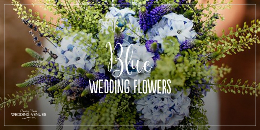 Weddings by colour - Blue wedding flowers | CHWV