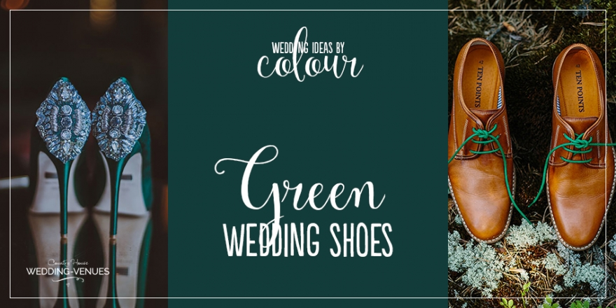 Wedding Ideas by Colour: Green Wedding Shoes | CHWV