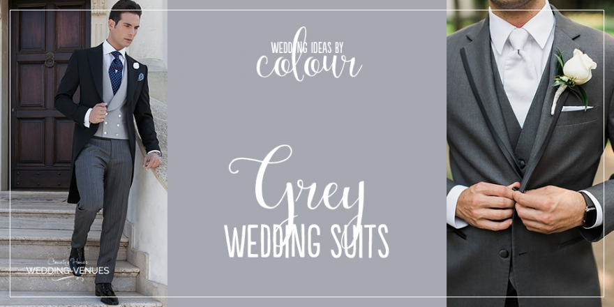 Wedding Ideas by Colour: Grey Wedding Suits | CHWV