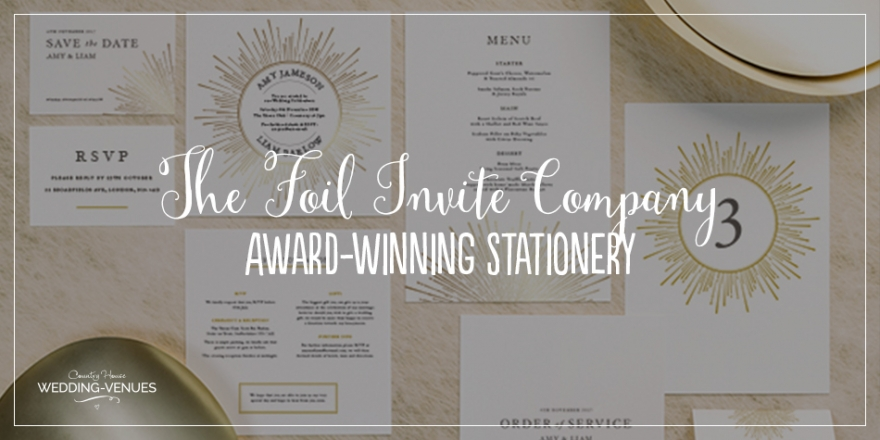 Award-Winning Wedding Stationery With The Foil Invite Company | CHWV