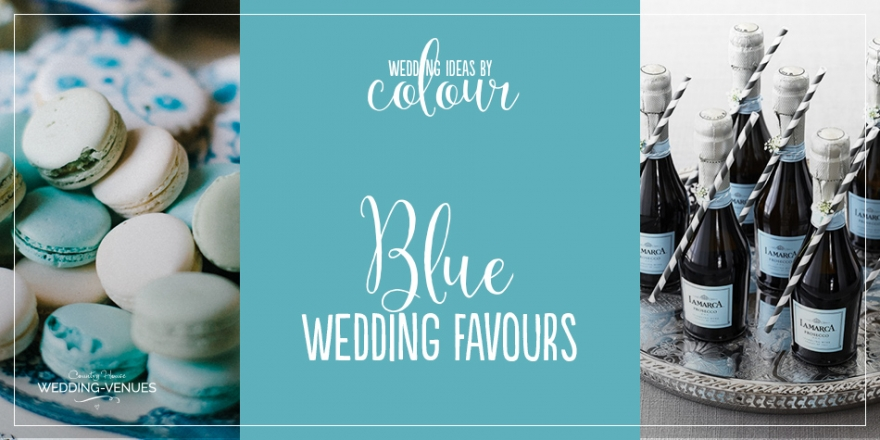 Wedding Ideas By Colour: Blue Wedding Favours | CHWV