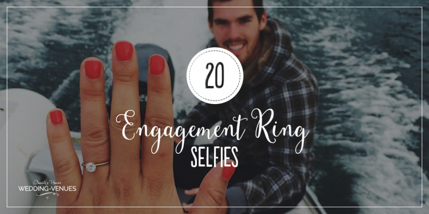 20 Engagement Ring Selfies To Help You Announce It In Style | CHWV