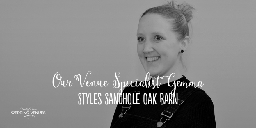 Our Venue Specialist's Perfect Wedding At Sandhole Oak Barn | CHWV