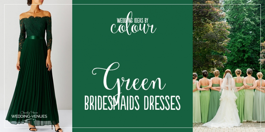 Wedding Ideas By Colour: Green Bridesmaid Dresses | CHWV