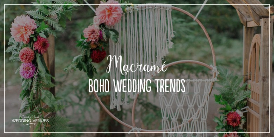 Boho Wedding Trends - Macramé | CHWV