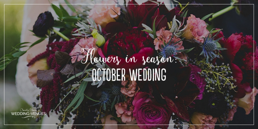 Wedding Flowers In Season: October Wedding Flowers | CHWV