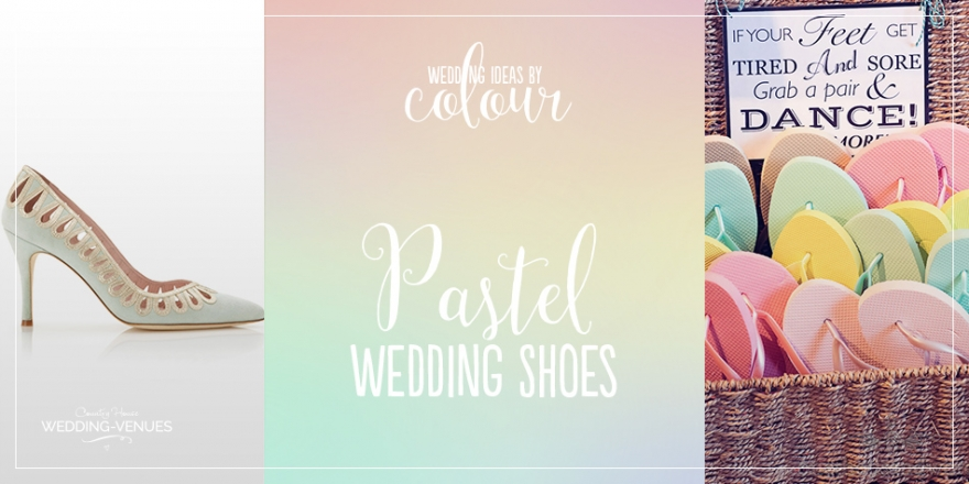 Wedding Ideas By Colour: Pastel Wedding Shoes - Quirky considerations | CHWV
