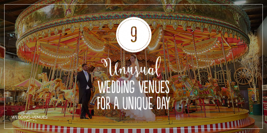 9 Unusual Wedding Venues For A Unique Day | CHWV