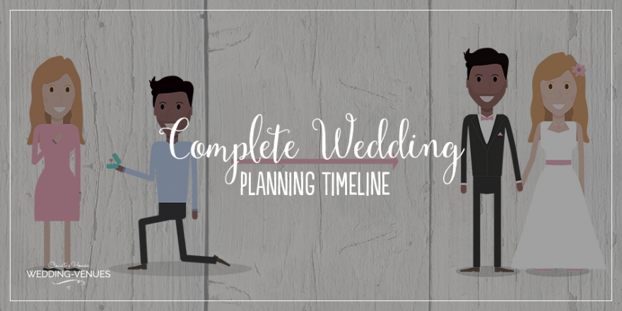 The Complete Wedding Planning Timeline | CHWV