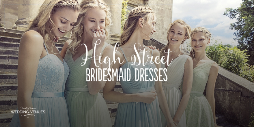 Friday Favourites: High St. Bridesmaids Dresses | CHWV
