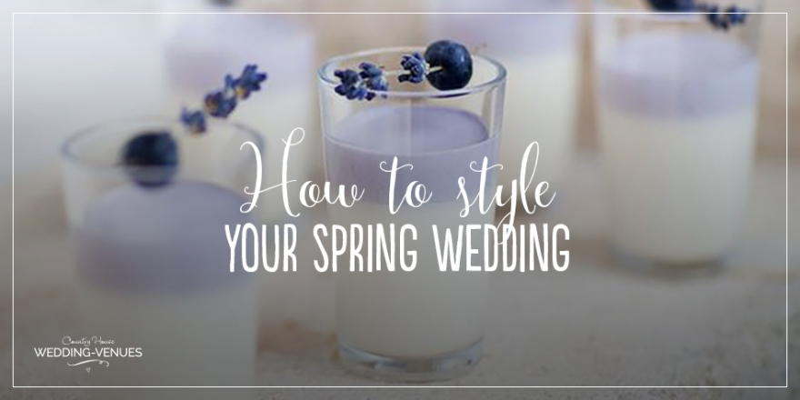 How to style your spring wedding | CHWV