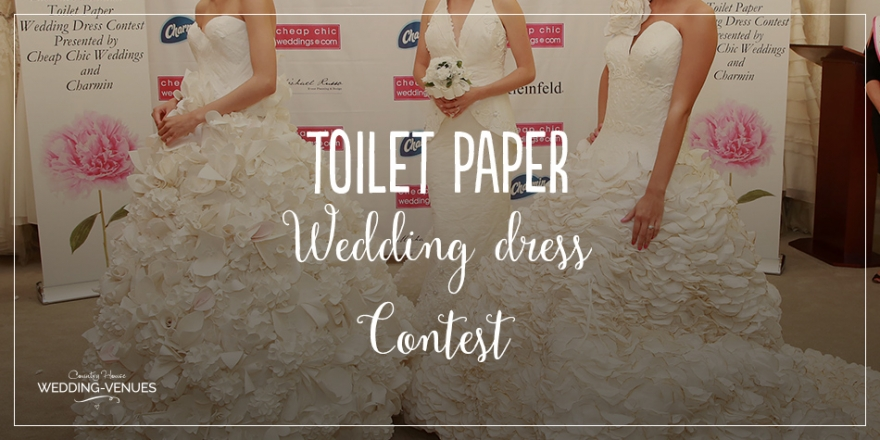 wedding ideas what load sheet annual toilet paper dress contest