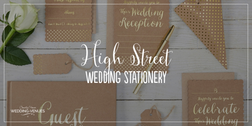 The Best High Street Wedding Stationery Ideas | CHWV