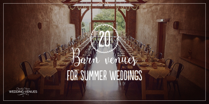 20 Incredible Barn Venues for the Perfect Summer Wedding | CHWV