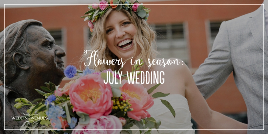 Wedding Flowers in Season: July Wedding | CHWV
